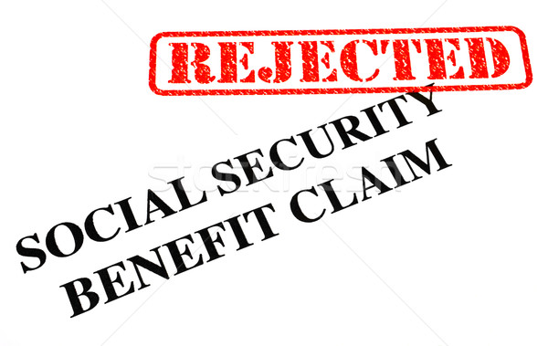 Social Security Benefit Claim REJECTED Stock photo © chrisdorney