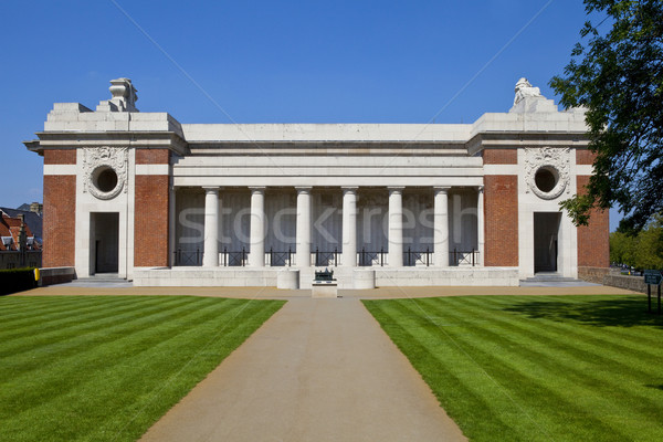 Side View of the Menin Gate in Ypres Stock photo © chrisdorney