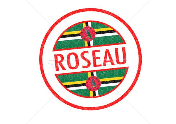 ROSEAU Stock photo © chrisdorney