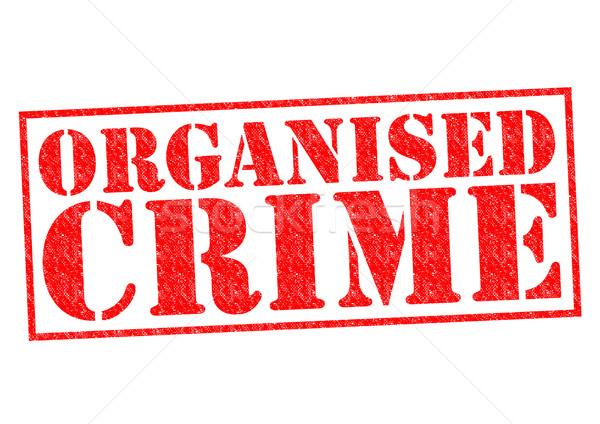 ORGANISED CRIME Stock photo © chrisdorney