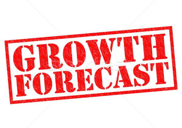 GROWTH FORECAST Stock photo © chrisdorney