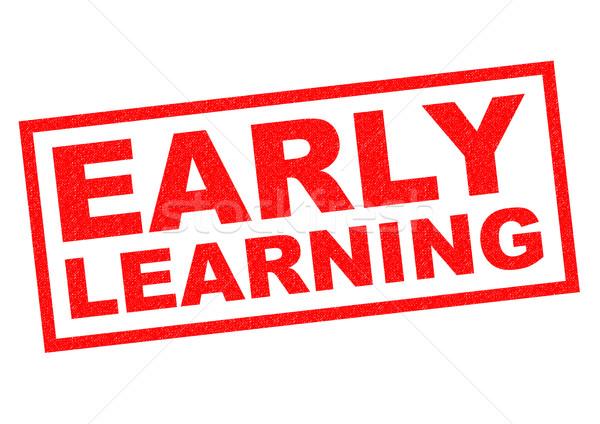 EARLY LEARNING Stock photo © chrisdorney