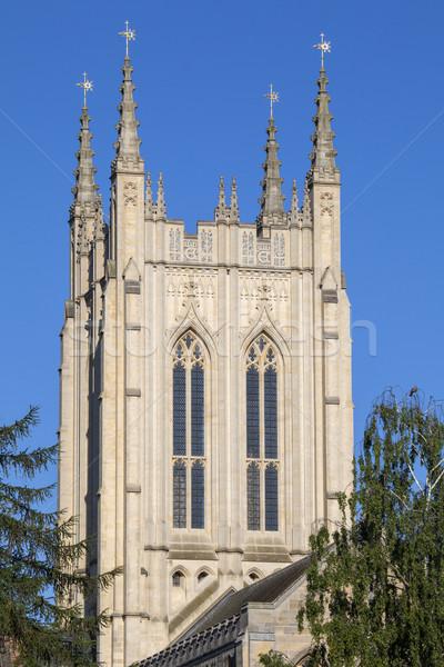 Cathédrale vue historique ville Voyage culte Photo stock © chrisdorney