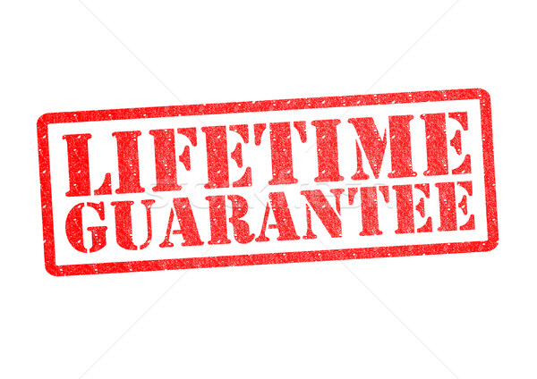 LIFETIME GUARANTEE Rubber Stamp Stock photo © chrisdorney