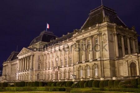 Royal Palace of Brussels Stock photo © chrisdorney