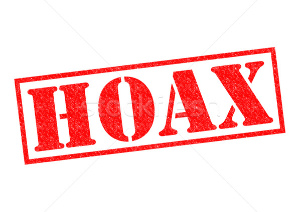 HOAX Rubber Stamp Stock photo © chrisdorney