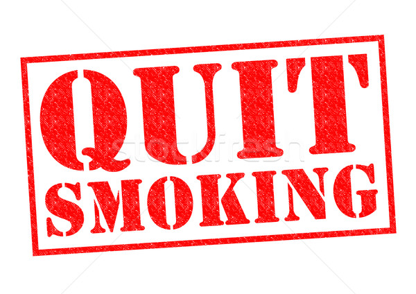 QUIT SMOKING Stock photo © chrisdorney