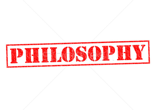 PHILOSOPHY Stock photo © chrisdorney