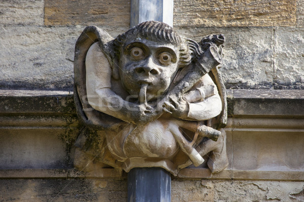 Gargoyle at Univeristy of Oxford Stock photo © chrisdorney