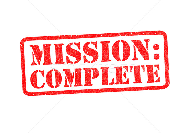 MISSION: COMPLETE Stock photo © chrisdorney