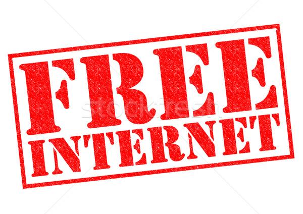 FREE INTERNET Stock photo © chrisdorney