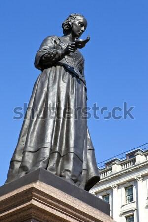 Metralhadora Londres dedicado morto primeiro mundo Foto stock © chrisdorney