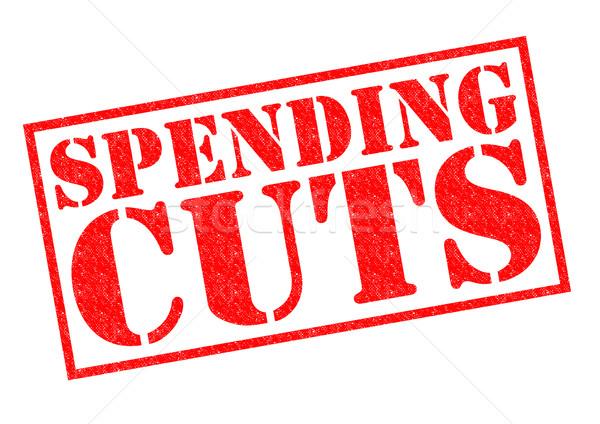 SPENDING CUTS Stock photo © chrisdorney