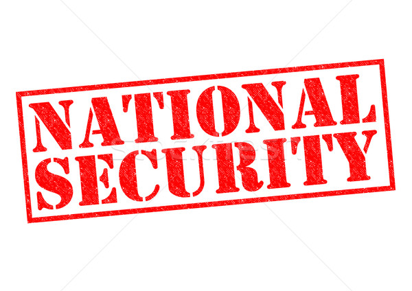 NATIONAL SECURITY Stock photo © chrisdorney