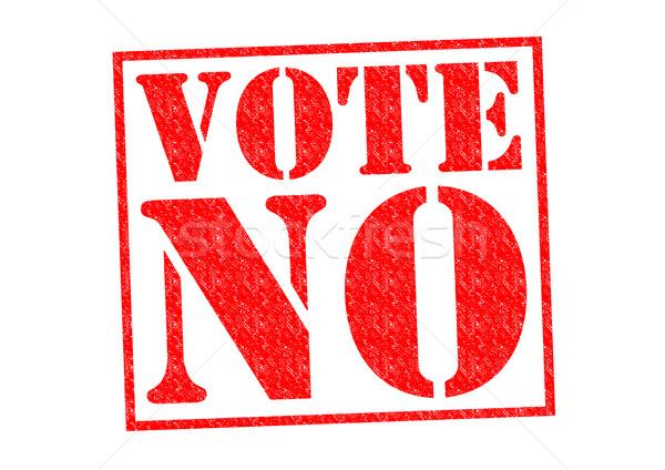 VOTE NO Stock photo © chrisdorney