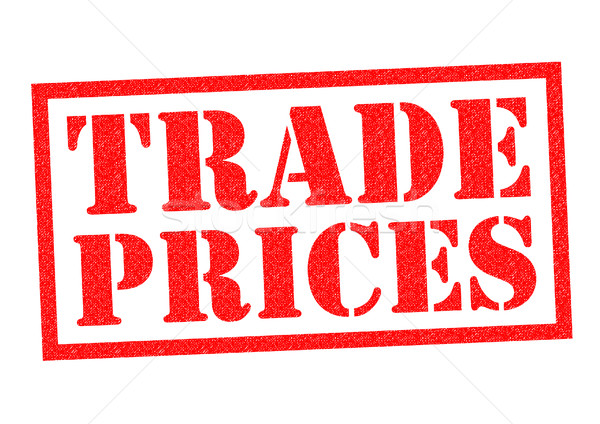 Stock photo: TRADE PRICES