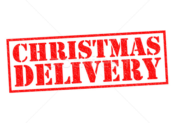CHRISTMAS DELIVERY Stock photo © chrisdorney