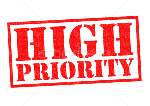 HIGH PRIORITY Stock photo © chrisdorney