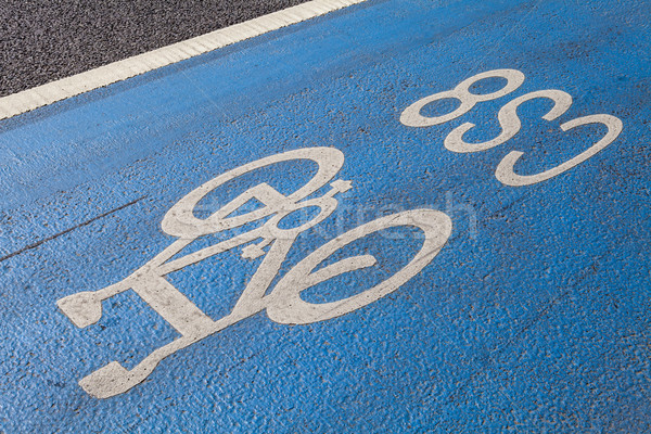Cycle Superhighway in Central London Stock photo © chrisdorney