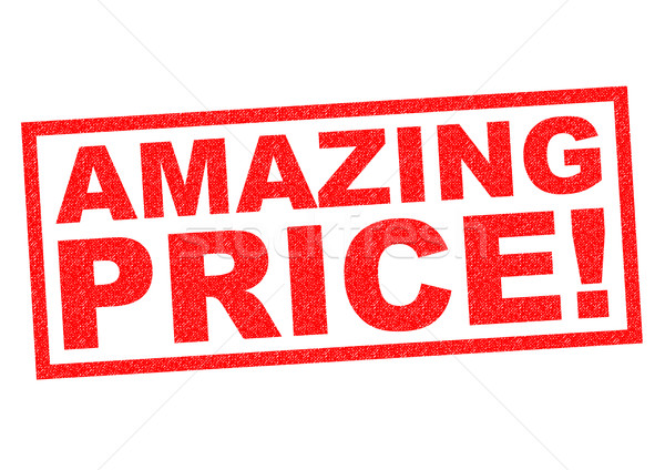 AMAZING PRICE! Stock photo © chrisdorney