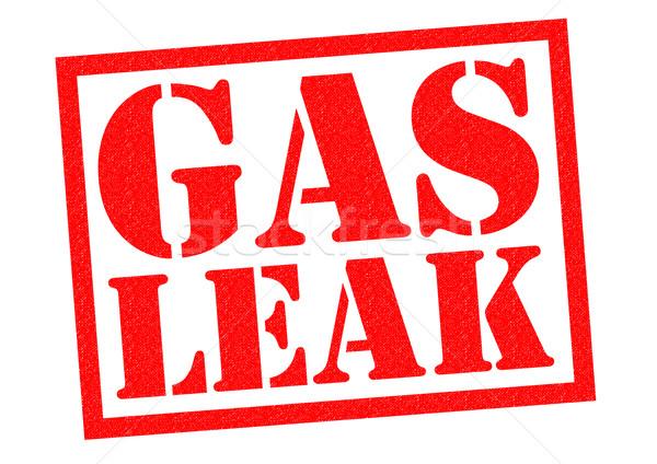 GAS LEAK Stock photo © chrisdorney