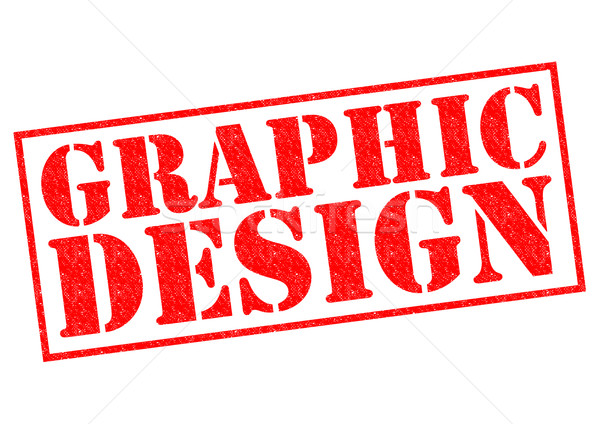 Graphic design rosso bianco costruzione pattern Foto d'archivio © chrisdorney