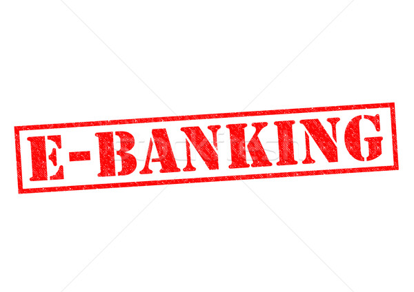 E-BANKING Stock photo © chrisdorney