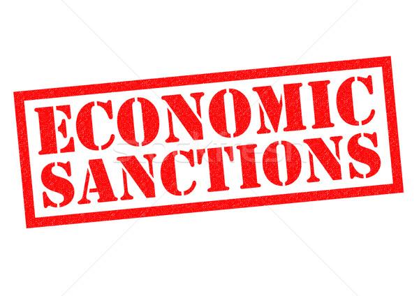 Stock photo: ECONOMIC SANCTIONS