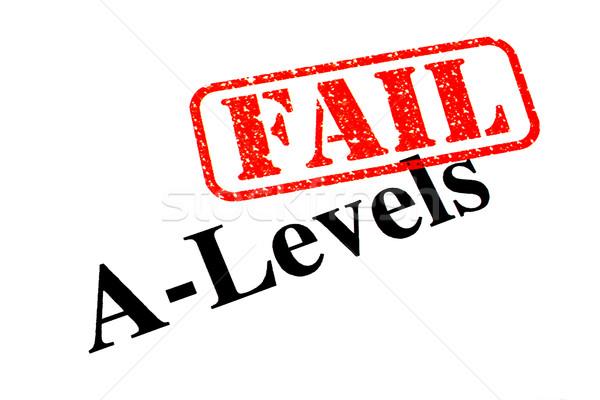 Failed A-Levels Stock photo © chrisdorney