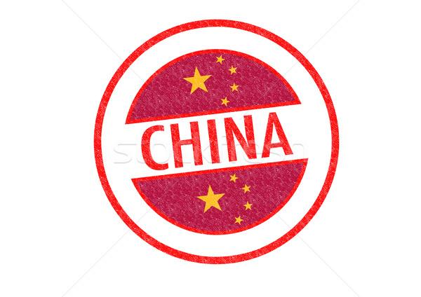 China witte chinese asia vakantie Stockfoto © chrisdorney