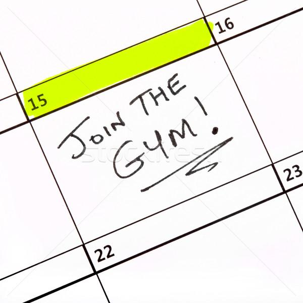 Join the Gym! Stock photo © chrisdorney