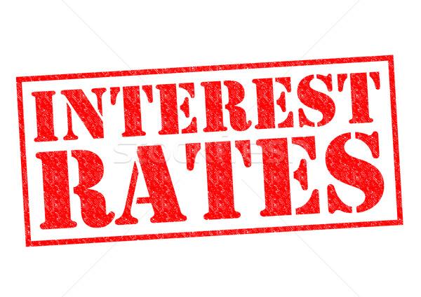 INTEREST RATES Stock photo © chrisdorney