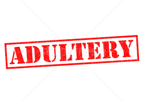 ADULTERY Stock photo © chrisdorney