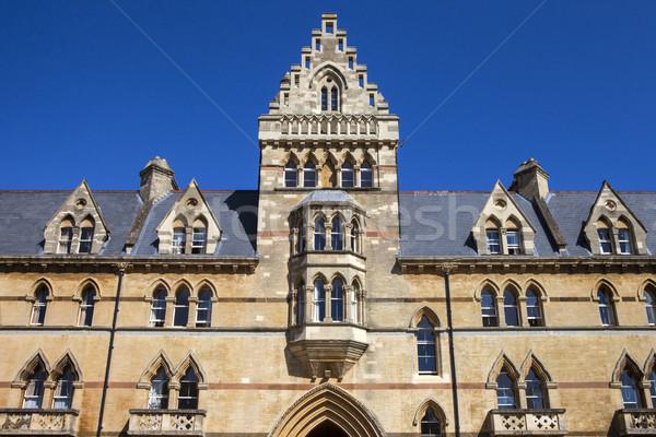 çayır Bina Mesih kilise kolej oxford Stok fotoğraf © chrisdorney