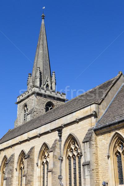 Iglesia oxford vista histórico ciudad Inglaterra Foto stock © chrisdorney
