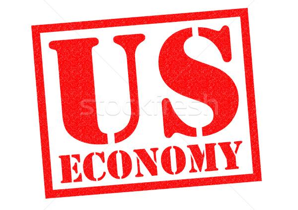 US ECONOMY Stock photo © chrisdorney