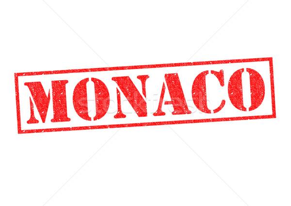 Monaco blanche vacances bouton culture Photo stock © chrisdorney