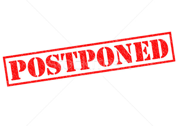 POSTPONED Stock photo © chrisdorney