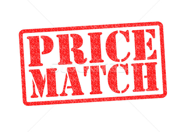 PRICE MATCH Stock photo © chrisdorney