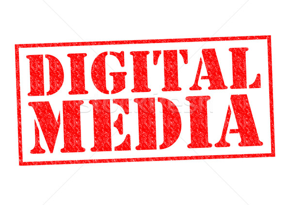 DIGITAL MEDIA Stock photo © chrisdorney