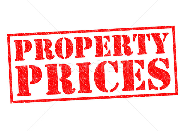 PROPERTY PRICES Stock photo © chrisdorney