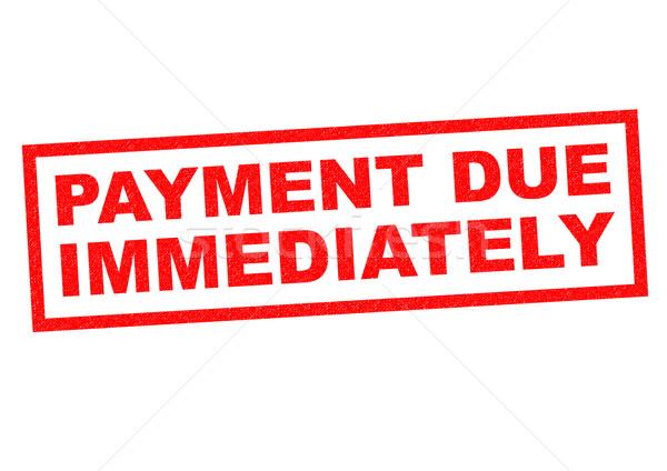 Betaling Rood witte geld financiële Stockfoto © chrisdorney