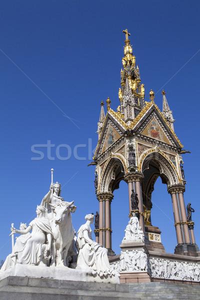 Albert Memorial in London Stock photo © chrisdorney