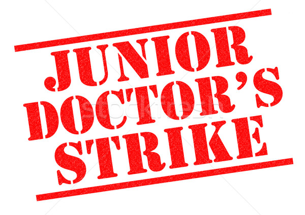 JUNIOR DOCTOR'S STRIKE Stock photo © chrisdorney