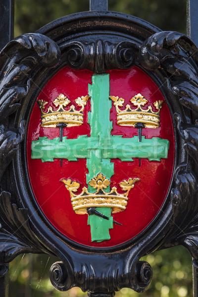 Colchester Coat of Arms Stock photo © chrisdorney