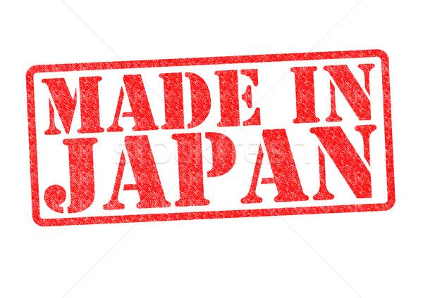 Japonia biały czerwony japoński asia Zdjęcia stock © chrisdorney