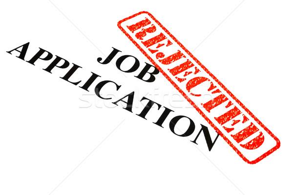 Job Application REJECTED Stock photo © chrisdorney
