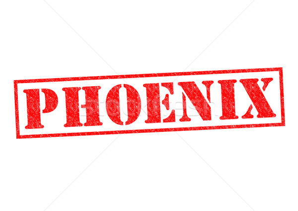 Phoenix witte stad knop cultuur Stockfoto © chrisdorney