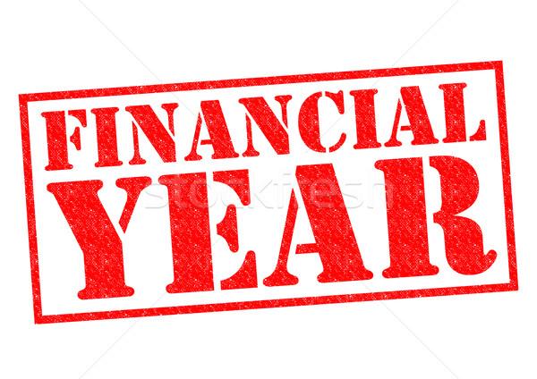 FINANCIAL YEAR Stock photo © chrisdorney