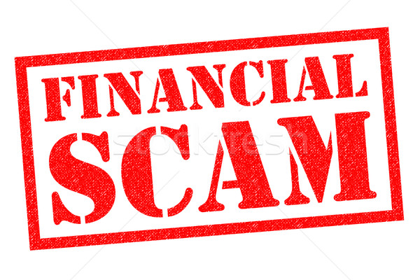 FINANCIAL SCAM Stock photo © chrisdorney